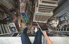 Un.break.able (tomms) Tags: city urban rooftop hong kong crutches verigo rooftopping
