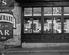Merchant's (Paul Nicholson) Tags: street city urban blackandwhite bw monochrome 50mm downtown december cityscape tn nashville tennessee dslr d90