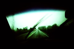 V (Chris Bloc) Tags: rain xpro noir driving crossprocess ghost richmond spooky ultrawide rva