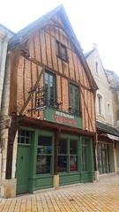 una delle Case a graticcio di Amboise