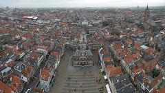 Delft, town view from Nieuwe Kerk (Loe Giesen) Tags: