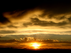 True Colorado Sunset (Kevin Casey Fleming) Tags: sunset sun mountains clouds colorado colorful cannon sunrays orenge