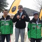 Day 2 slalom at Panorama Keurig Cup - Martin Grasic 2nd; Erik Read 1st; Blake Ramsden 3rd