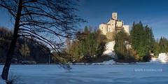 Trakoan (kadriraj.me) Tags: winter panorama lake snow castle architecture landscape nikon nikkor zima snijeg jezero trakoan 7020028 gnd arhitektura dvorac 2013 pejza d3s kadrirajme wwwkadrirajme robertospudi