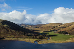 View from Bowerhope Law, St Mary's Loch, Scottish Borders (Rob_ert) Tags: scotland unitedkingdom scottishborders stmarysloch canoneos60d bowerhopelaw