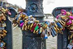 Pont des Arts (anthsnap!) Tags: bridge paris france padlocks riverseine pontdesarts lovepadlocks
