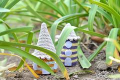 Los Habitantes Del Bosque (Wasel Wasel Crafts) Tags: house nature forest miniature woods pattern pastel crochet free natura cotton clay amigurumi casas dmc patrn ganchillo algodn