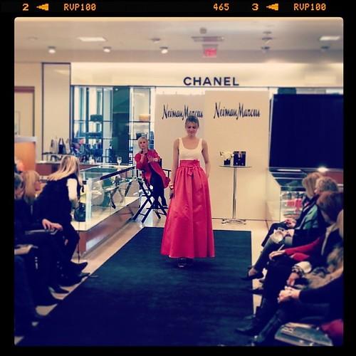 #NiemanMarcus #summer2014 #fashion #catwalk #chanel