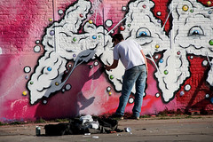 graffiti (wojofoto) Tags: amsterdam graffiti action ndsm wojofoto