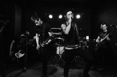The Scarlett Letter (Jake Weber ) Tags: city ohio music white black scarlett band inner toledo letter metalcore frankies posthardcore