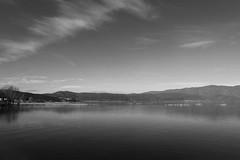 Lake Dojran (cuckove) Tags: cuckove canon 40d dojran lake macedonia landscape calm tranquil outdoor nature panorama monochrome minimalism minimal emilchuchkov emilchuchkovphotography