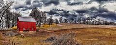 IMG_7387-89PRtzl1scTBbLGE (ultravivid imaging) Tags: ultravividimaging ultra vivid imaging ultravivid colorful canon canon5dmk2 clouds stormclouds scenic vista rural fields farm barn winter evening