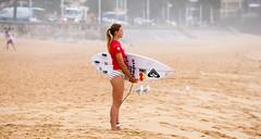 63+333: Calm before the storm (geemuses) Tags: biancabuitendag 2017australianopenofsurfing ausopen surf surfing sea ocean sport portrait action sportsaction sand sun surfers womenssurfing manly northernbeaches nsw australia