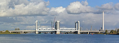 Botlekbrug (WILLY HUISMAN NCN) Tags: brug bridge water wolken clouds botlek rotterdam oude maas