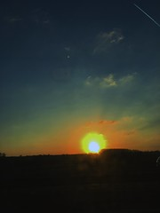 Photo of The sun going down