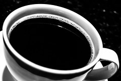 03 Black Coffee (jeanettefellows) Tags: clarke hotel waukesha wisconsin coffee black mug cup dring beverage hot blackandwhite