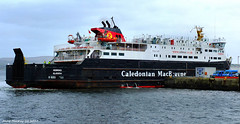 Scotland Greenock car ferry Hebrides entering dry dock 13 March 2017 by Anne MacKay (Anne MacKay images of interest & wonder) Tags: scotland greenock caledonian macbrayne car ferry hebrides ship dry dock xs1 13 march 2017 picture by anne mackay