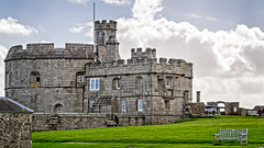 Pendennis Castle (Brett of Binnshire) Tags: castle england falmouth stonebuilt highdynamicrange cannon weather clouds hdr fortress locationrecorded lightroomhdr architecture historicbuilding historicalsite manipulations tower lrhdr cornwall fort