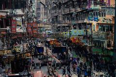 traffic (hansekiki ) Tags: hongkong china mongkok multipleexposure mehrfachbelichtung canon 5dmarkiii