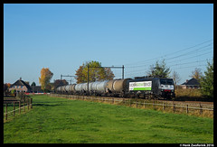 RTB Cargo 189 209, Berghem 31-10-2016 (Henk Zwoferink) Tags: berghem noordbrabant nederland nl rtb cargo rurtalbahn henk zwoferink mrce oss ooc 189 209 siemens br189 es64f4
