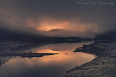 Loch Of The Lowes (.Brian Kerr Photography.) Tags: snow winter lochofthelowes stmarysloch scotland scotspirit scottishborders moffathills selkirk frosty reflections cloudinversion loch wintery cold coldmorning sunrise trees naturallandscape natural nature photography outdoorphotography outdoor availablelight mistymorning mist misty january orange blue sky landscape