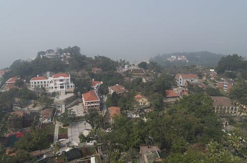 View over Gulangyu Island, 13.03.2017.