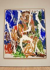 Ein Gruner kaputt '67 (Remix) (A Green One Kaput '67 [Remix]), by Georg Baselitz (JB by the Sea) Tags: sanfrancisco california march2017 financialdistrict sanfranciscomuseumofmodernart sfmoma painting georgbaselitz