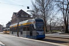 """Leoliner""der Leipziger Verkehrsbetriebe (Vitalis Fotopage) Tags: leipzig sachsen deutschland ngtw6 6xnfgltwer leoliner heiterblick tram strassenbahn public transport leipziger verkehrsbetriebe"