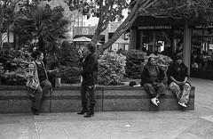 (jmphoto84) Tags: break smoke smoking urban m6 fp4 film monochrome