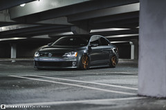 GLI (Mike Burns Photography) Tags: mk6 vw volkswagen jetta gli bagged bagriders airlift 3sdm slammedenuff