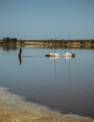 Lac Rose, Senegal (Piotr_PopUp) Tags: lacrose senegal africa lake water travel dailylife vertical people salt lacretba silhouette