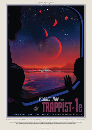 11-Affiche // 50x70 // Trappist - 1e
