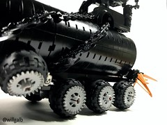 Tanker (willgalb) Tags: car moc tanker truck wasteland postapocalypse immortaljoe warrig furiosa madmaxfuryroad lego