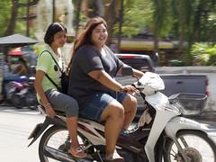 Contrast (RickyZ2010) Tags: corpulence fatskinny heavysetlady hugethighs prettylady thaiwoman plussize petitesize