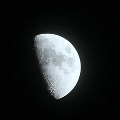 Cold moon (stezza50) Tags: moon craters sky heavens blackness dark seas light bright celestial lunar shine astronomy