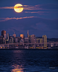 Moon (davidyuweb) Tags: moon san francisco sanfrancisco sfist luckysnapshot