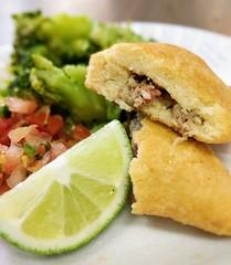 Empanadas (sstrieu) Tags: empanadas empanada colombian food