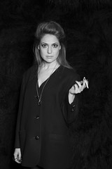 """Come on baby light my fire..."" (C) (Igor Voller) Tags: girl woman blackandwhite monochrome bw noir eyes cigarette hair hand necklace looking look девушка чб глаза взгляд волосы сигарета 女の人 目 手 黒 нуар fräulein frau schwarz augen"