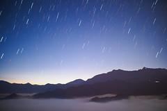 Sunrise dawn|Alishan 阿里山雲海 (里卡豆) Tags: sunrise dawn 日出 sky stars 星軌 livecomp olympus penf 阿里山 alishan alimountain mountain voigtlander 175mm f095 nokton taiwan 台灣 嘉義 chiayi 雲海 cloud clouds