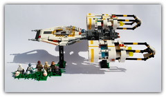 Y-wing Peter ray alternative version . Star beast wars . (peter-ray) Tags: one rogue brick moc x ala tie shipthember ray peter warship fii si ship space minifigure wars star lego ywing chima fightere caccia