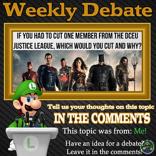 Weekly Debate- If you had to cut one member from the DCEU Justice League, Which would you cut and why?