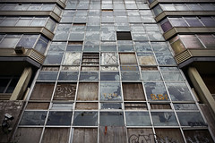 Sovereign House [81/365 2017] (steven.kemp) Tags: hmso anglia square sovereign house norwich derelict window glass building architecture