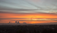 Stanlow Sunrise (David Chennell - DavidC.Photography) Tags: cheshire ellesmereport sunrise dawn twilight industrialsunrise industry petrochemical stanlow refinery pollution environment