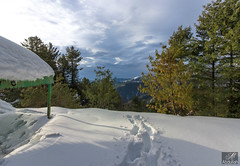 Hut (aliabdullah.176) Tags: mushkpuri galiyat khyberpakhtunkhwa pakistan snow landscape 1855mm wideangle canon t3i ngc