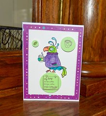 Stampotique Bird (Ann Marie Ruda) Tags: stampotique sss stamps