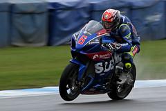 Taylor Mackenzie (EDW74) Tags: bsb british superbikes doningtonpark donington leicestershire race track racing kneedown 2017 round 1 taylor mackenzie bennetts suzuki 6