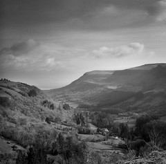 The Queen of the Glens: Glenariff (fudgefishmono) Tags: fp4 glenariff ilford tonality gf670 sekonic medium format