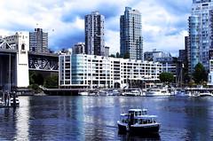 #vancouverbound (marinacarabat) Tags: vancouver vancouverbound britishcolumbia sea city