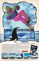 Ski or Die (justinporterstephens) Tags: videogames retrogames vintageads nintendo nes