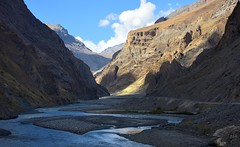 The entrance of Pin Valley National Park, India 2016 (reurinkjan) Tags: india 2016 ©janreurink himachalpradesh spiti kinaur ladakh kargil jammuandkashmir pinriver pinvalleynationalpark himalayamountains himalayamtrange himalayas landscapepicture landscape landscapescenery mountainlandscape
